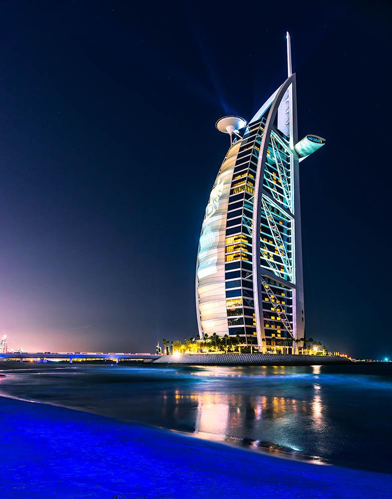 DUBAI, UAE – JANUARY 20: Burj Al Arab hotel on January 20, 2011