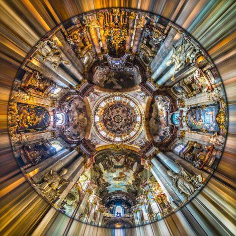 Prague, St. Nicholas Cathedral. Czech Republic