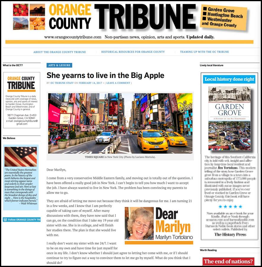 orange county tribune copia
