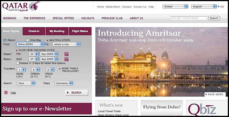 qatar airways copia