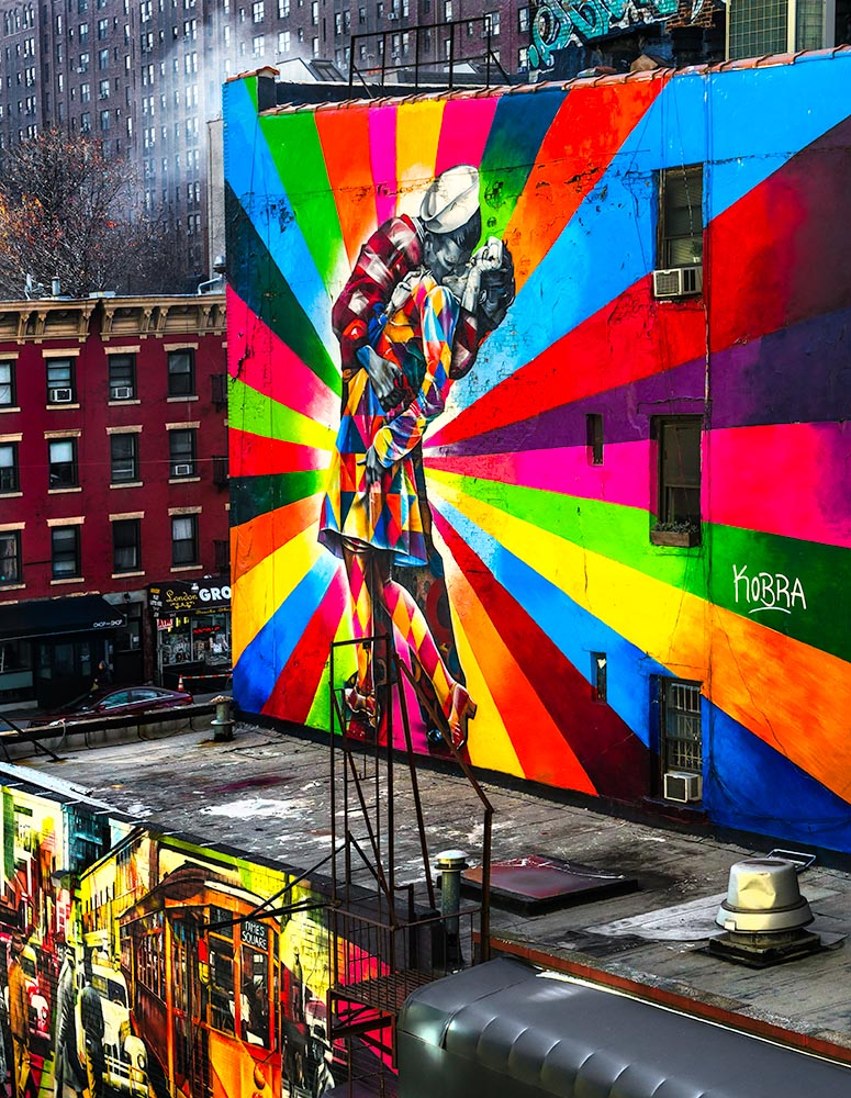 A Mural  in New York, USA.