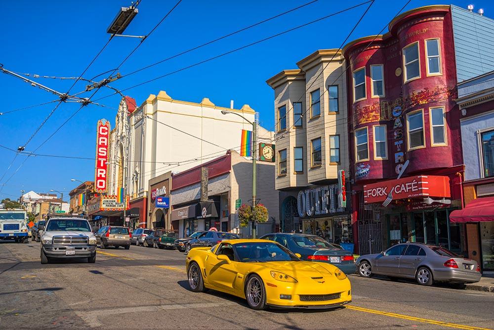 SAN FRANCISCO – DECEMBER 12: Castro Theatre on December 12, 2013