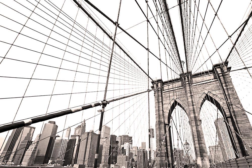 Manhattan bridge, New York City. USA.