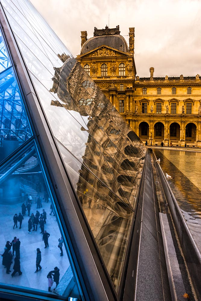 PARIS-DECEMBER 06: The Louvre Art Museum on December 06, 2012 in
