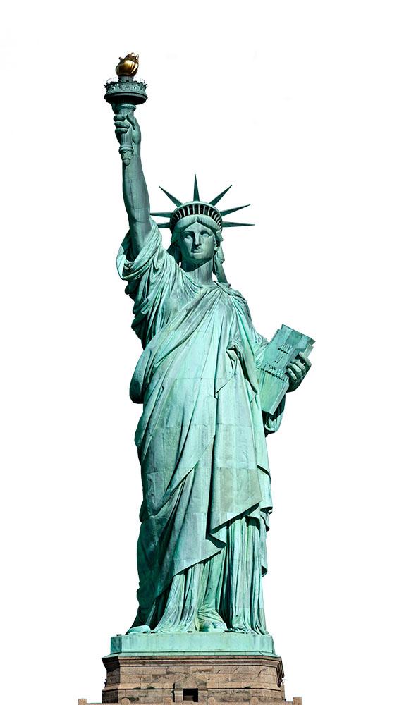 Statue of Liberty. New York, USA.