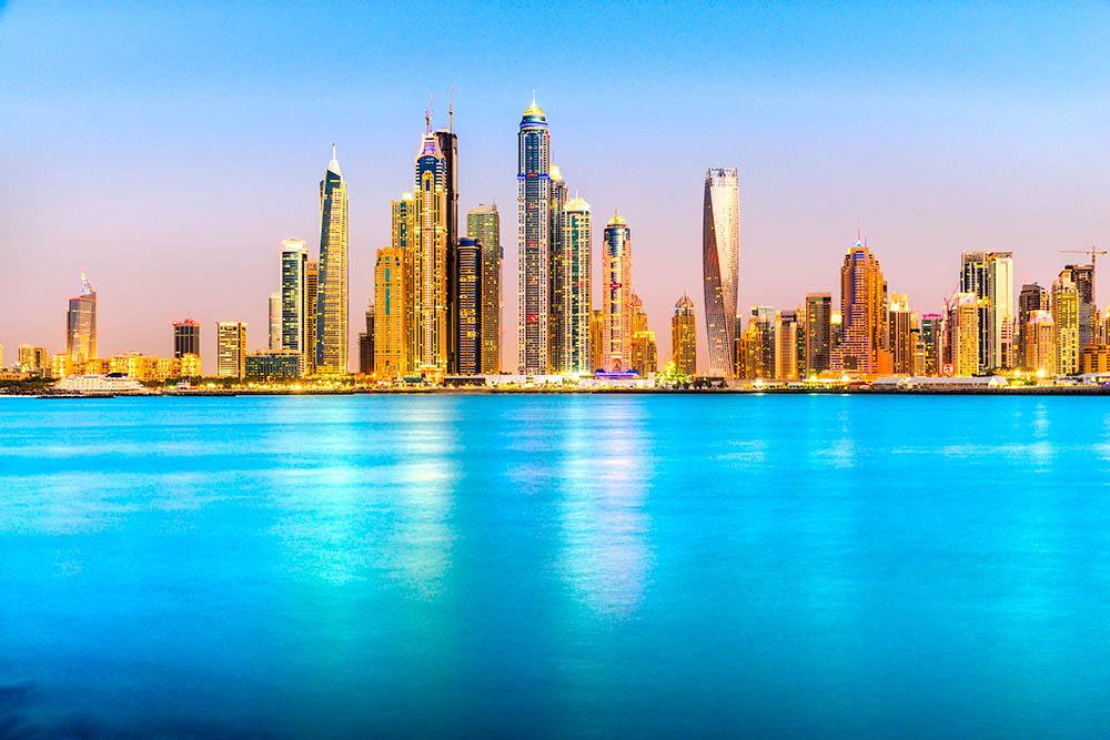 Dubai Marina.