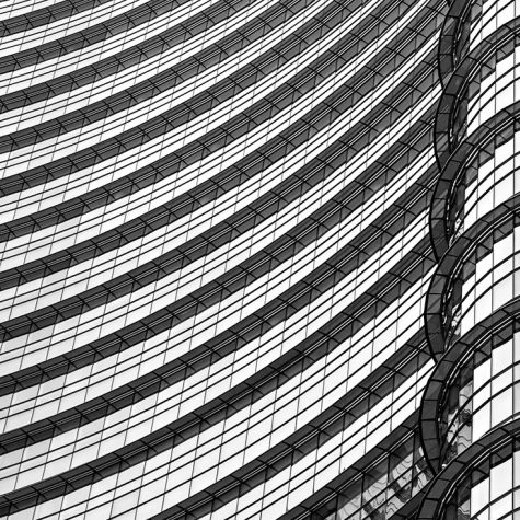 UNICREDIT TOWER, MILAN, ITALY, THE WALL, LUCIANO MORTULA PHOTOGR