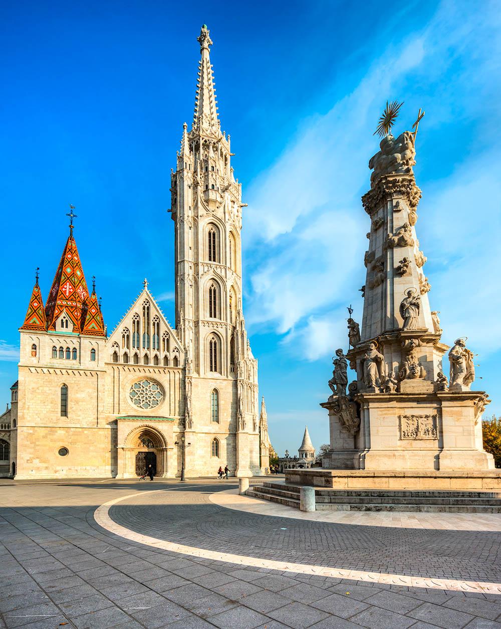 Budapest,  Mathias Cathedral, Hungary
