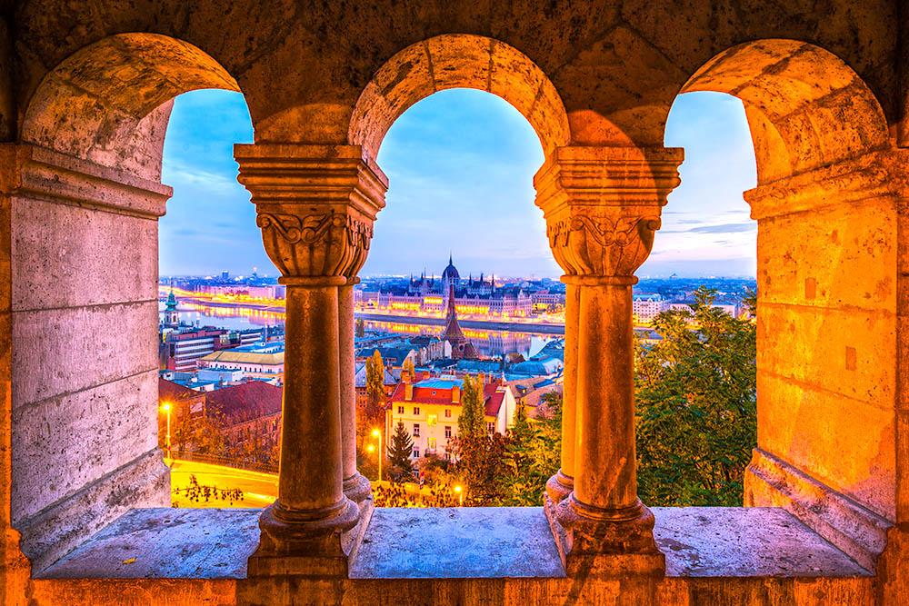 Budapest view, Hungary