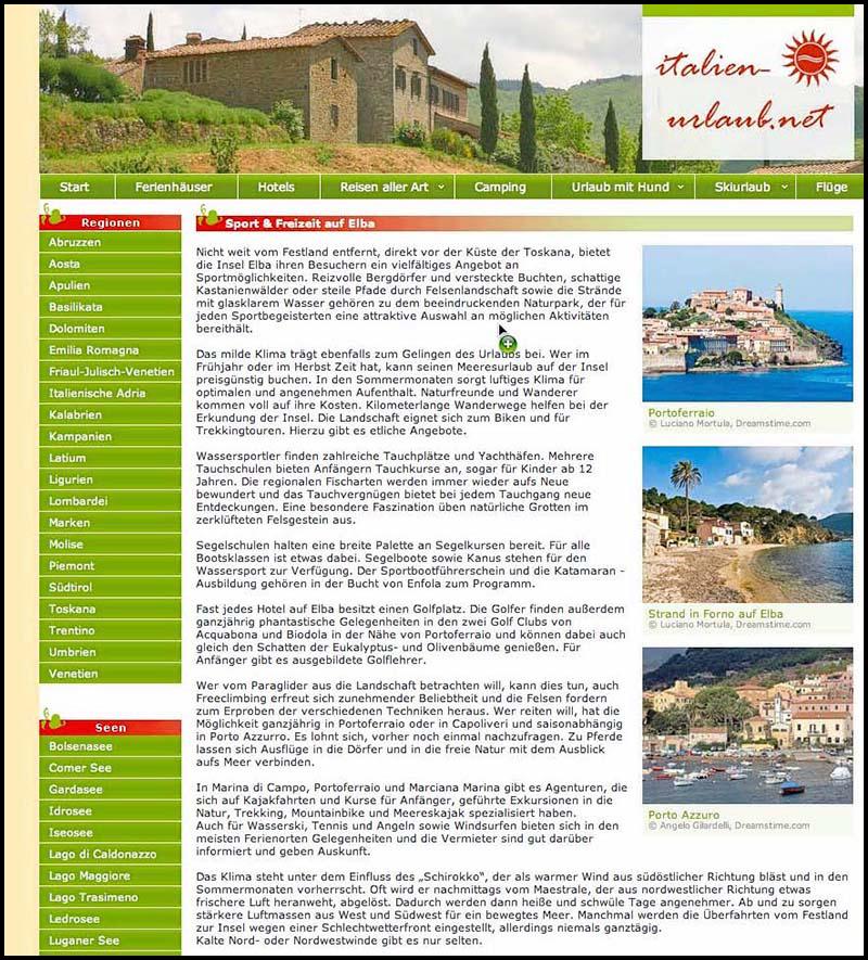 Italien Urlaub copia