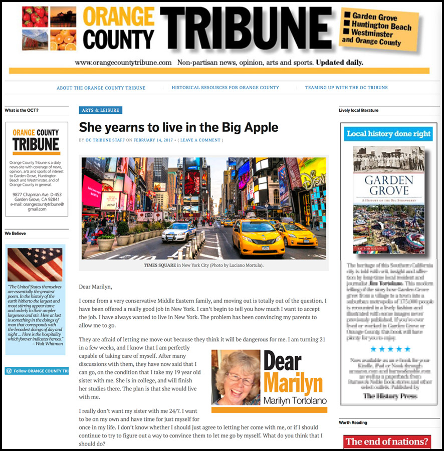 orange county tribune copia