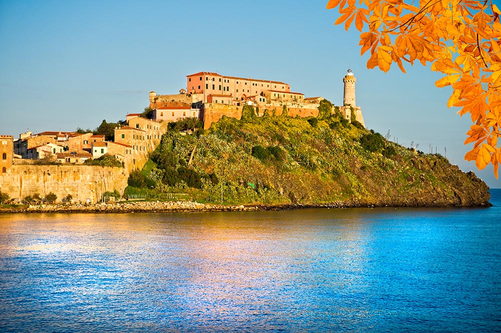Portoferraio, Elba Island, Italy.
