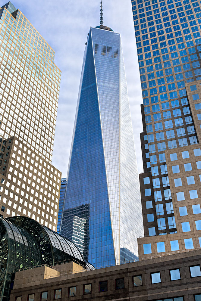 Freedom Tower in Manhattan, New York City. USA.