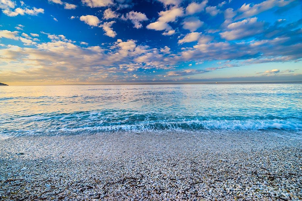 Capo Bianco Beach, Portoferraio, Elba Island, Italy
