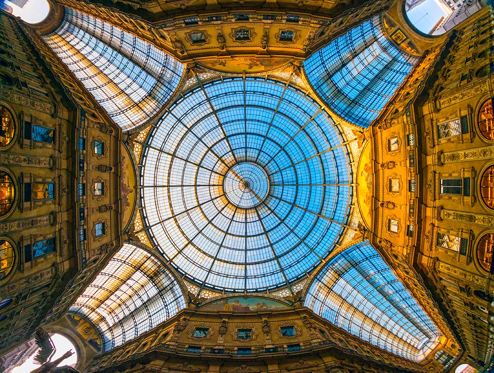 Vittorio Emanuele gallery, Milan