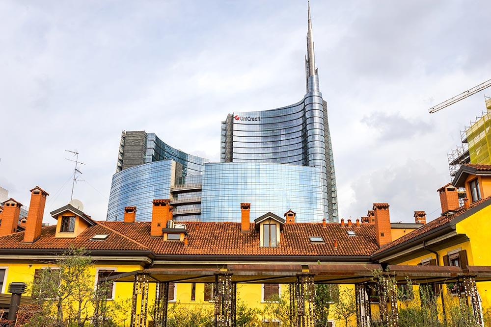 Porta Nuova Area, Milan, Italy.