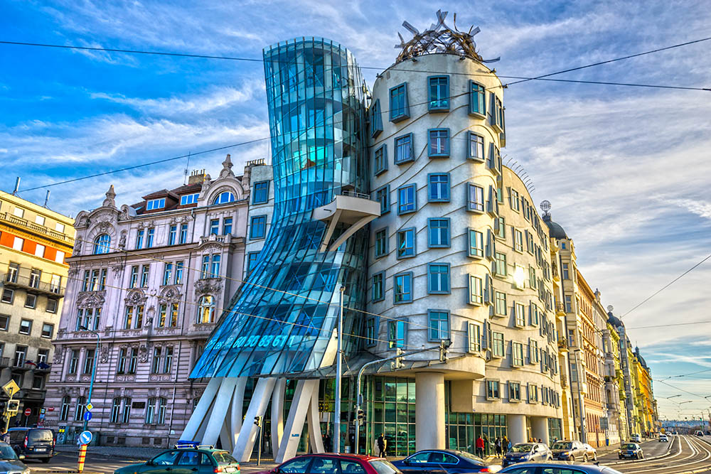 Prague, The Dancing house, Czech Republic