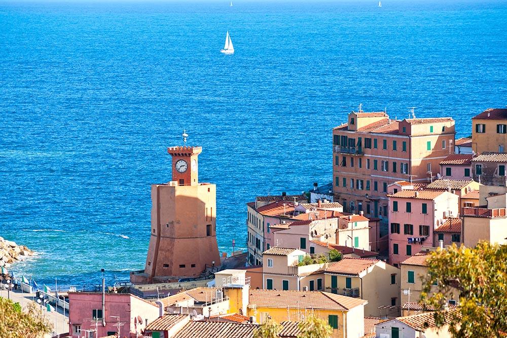 Rio Marina, Isle of Elba, Italy.