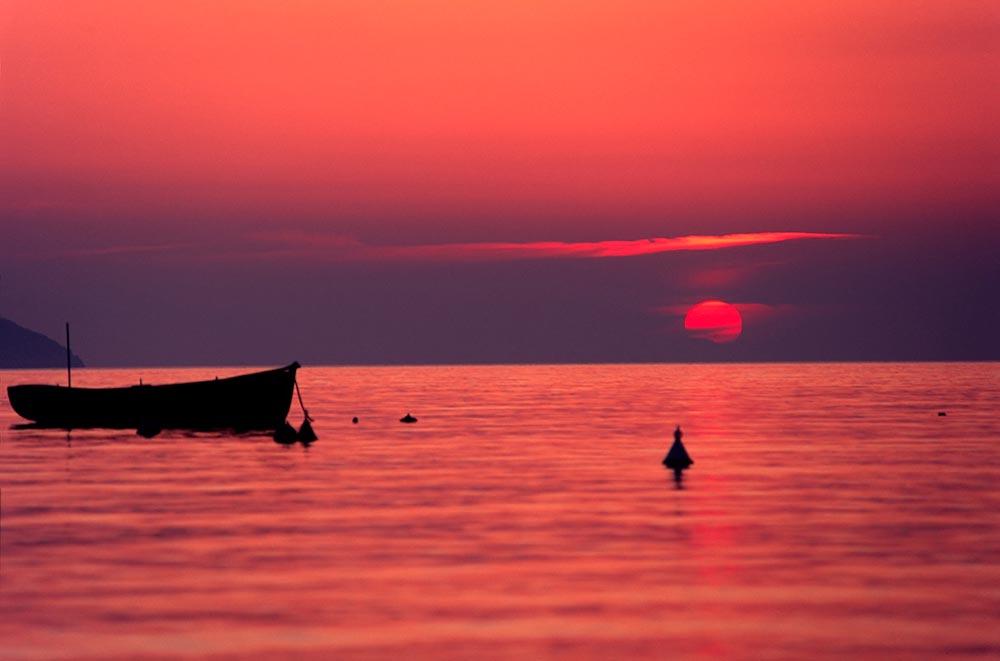 Sunset, Elba Island.