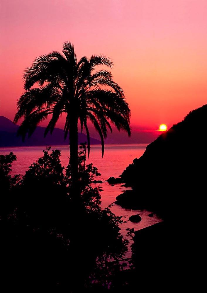 Elba Island, Sunset.